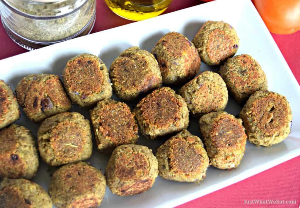 "Lentil & Quinoa ""Meatballs"" - Gluten Free & Vegan"