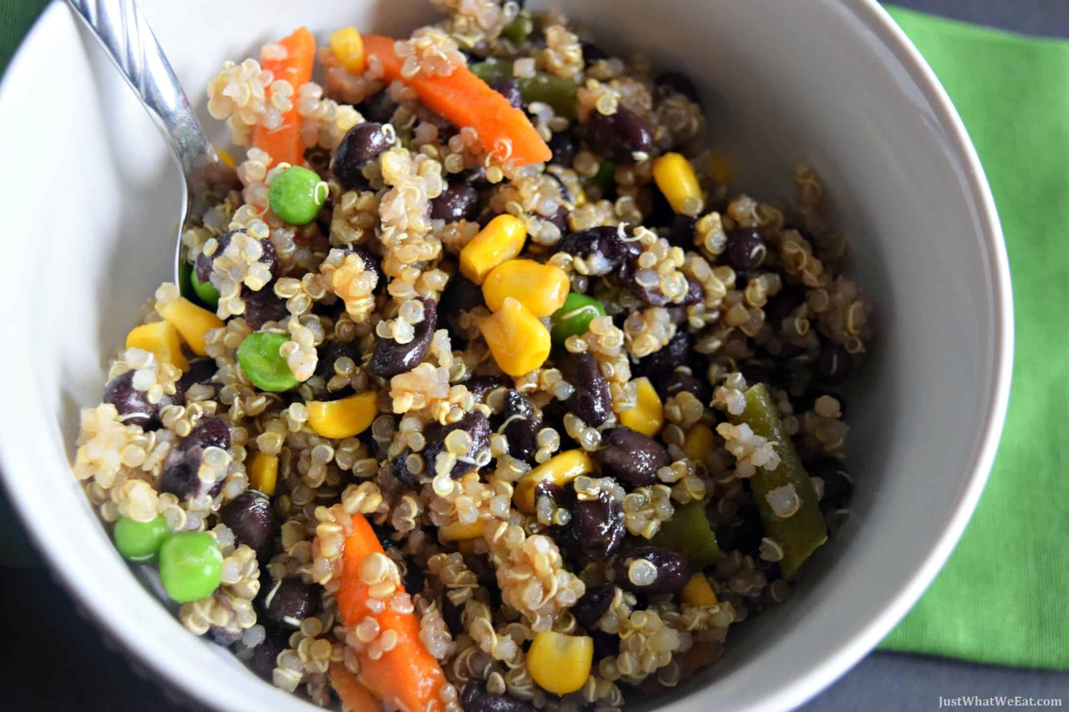 Black Bean Quinoa Bowls - Gluten Free & Vegan