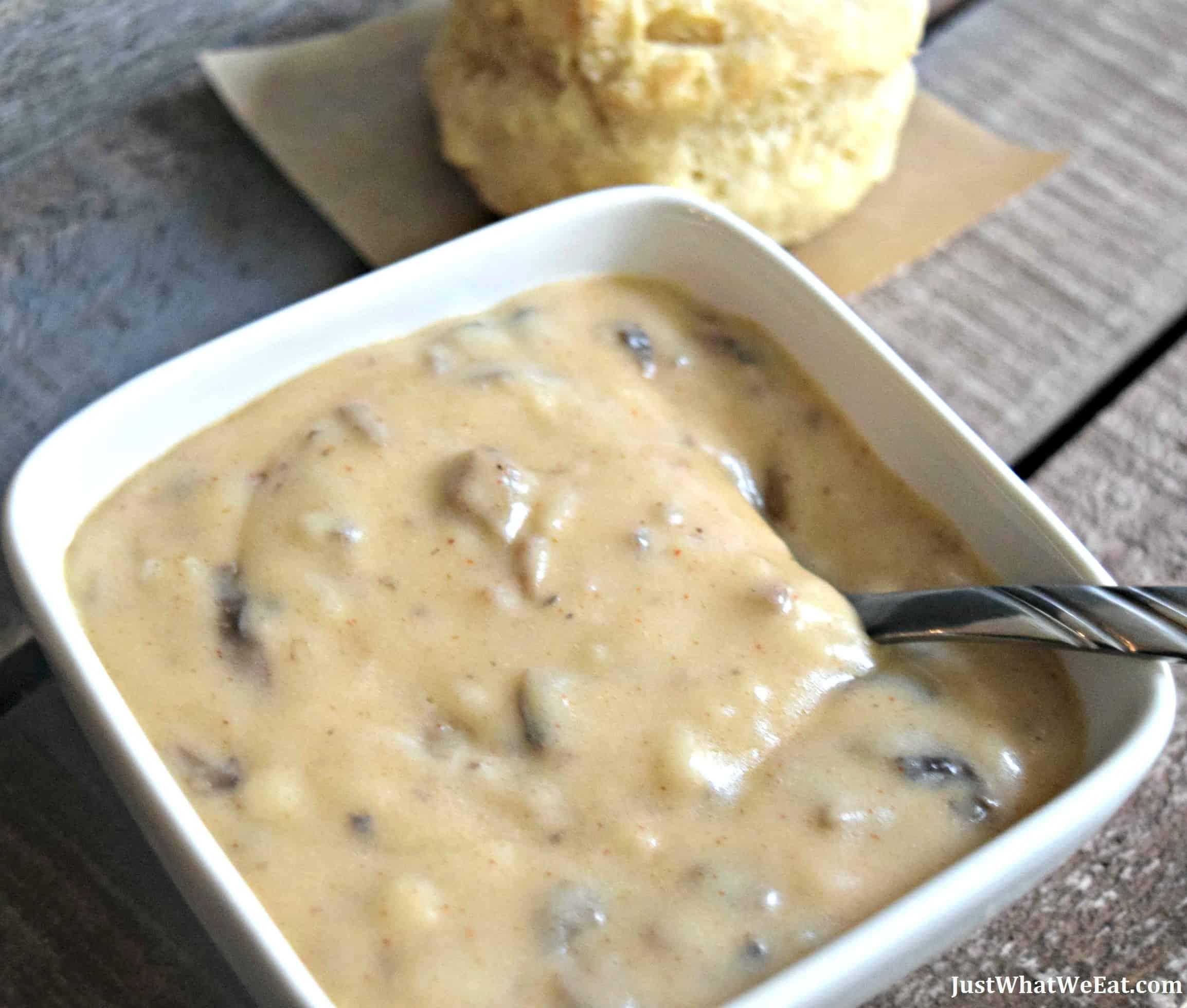 Biscuits & Gravy - Gluten Free & Vegan