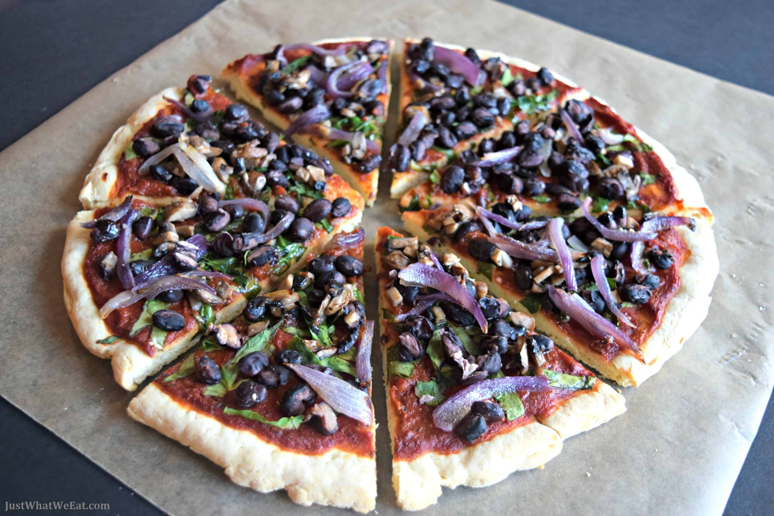 Pizza Crust - Gluten Free, Vegan, & Yeast Free