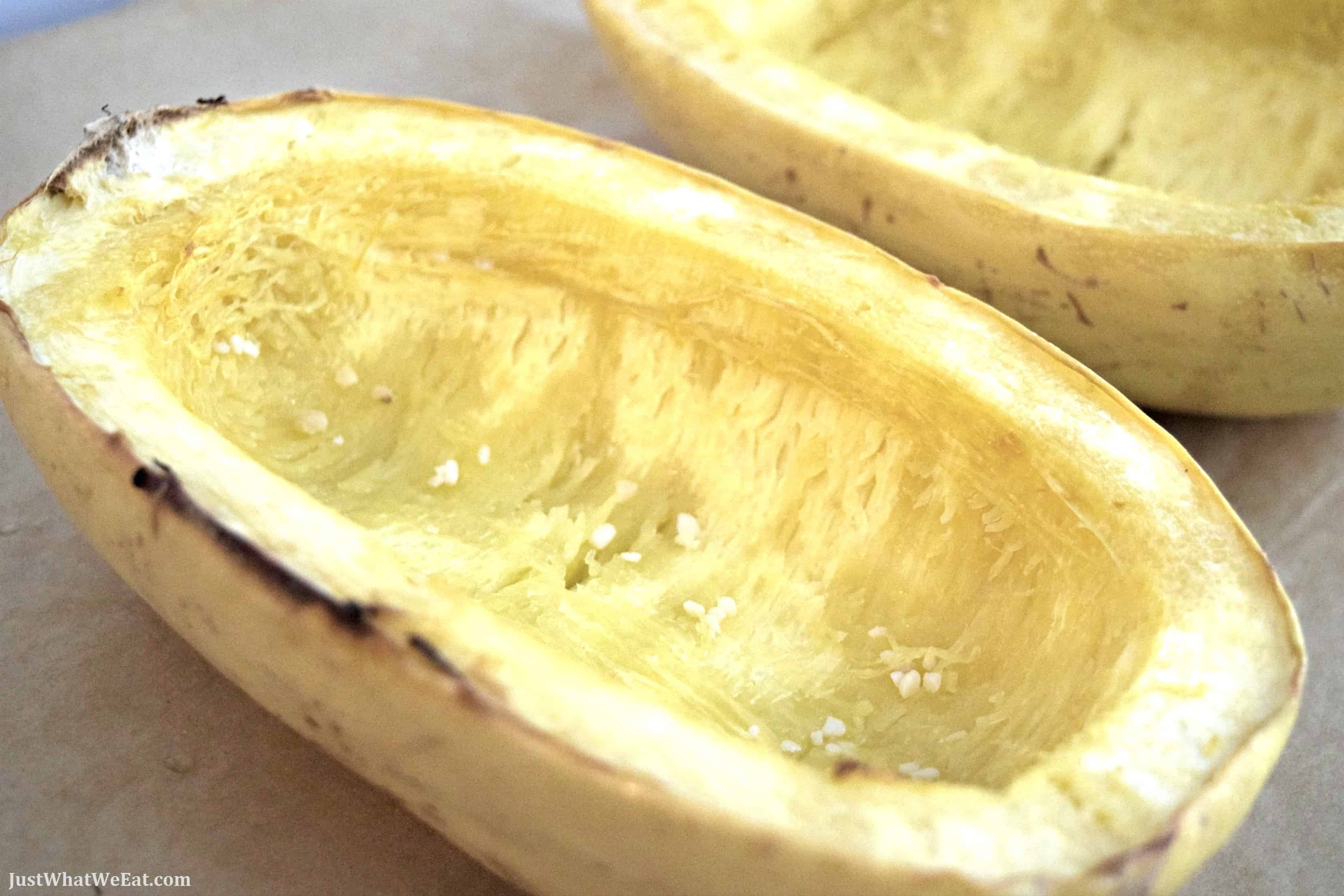 Roasted Garlic Spaghetti Squash