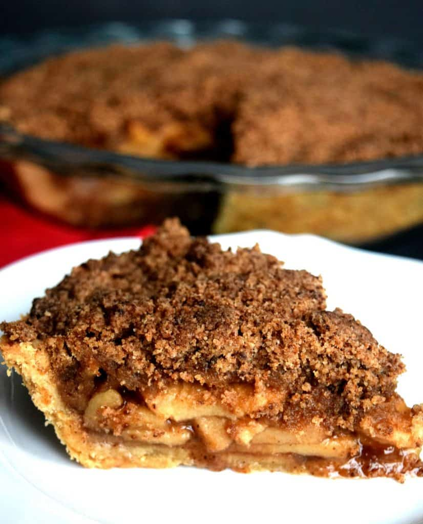 Dutch Apple Pie - Gluten Free, Vegan, & Refined Sugar Free