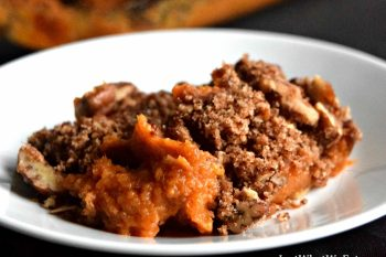 Sweet Potato Casserole - Gluten Free, Vegan, Refined Sugar Free