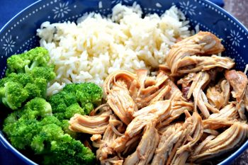 This Teriyaki Chicken is SO easy to make and tastes amazing! It can be made in the slow cooker or instant pot and also makes a super easy freezer meal!