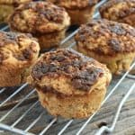 Apple Crumble Muffins – Gluten Free, Vegan, & Refined Sugar Free