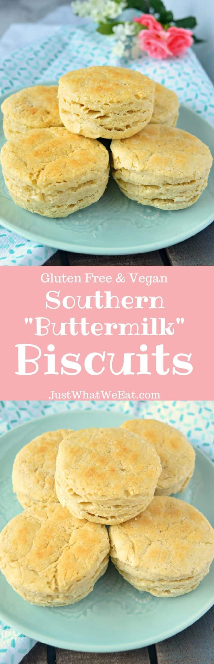 "Southern ""Buttermilk"" Biscuits - Gluten Free & Vegan"