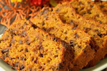 Pumpkin Bread – Gluten Free, Vegan, & Refined Sugar Free