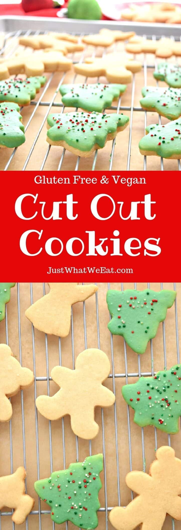 Cut Out Cookies - Gluten Free and Vegan