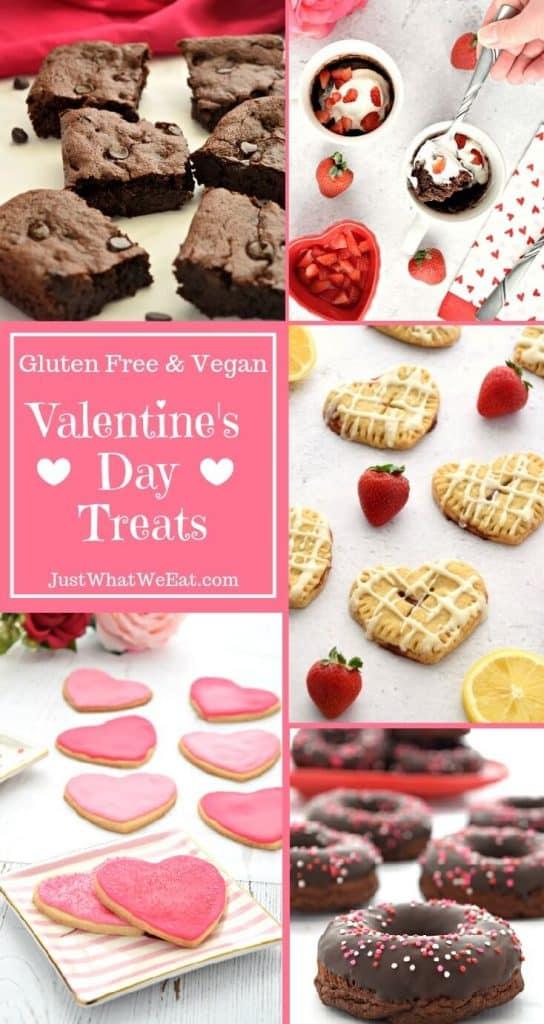 Valentine's Day Treats - Gluten Free, Vegan