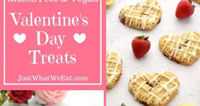 Valentines Day Treats – Gluten Free and Vegan