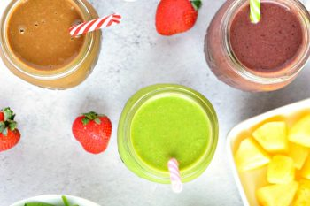 3 Healthy Smoothie Recipes – Gluten Free, Vegan, Refined Sugar Free