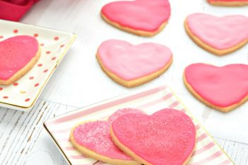 Valentine's Day Cut Out Cookies – Gluten Free, Vegan