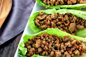 Asian Lettuce Wraps – Gluten Free, Dairy Free
