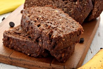 Chocolate Banana Bread – Gluten Free, Vegan, Dairy Free