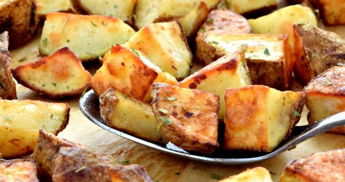 Oven Roasted Potatoes – Gluten Free, Vegan