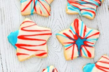 4th of July Cut Out Cookies – Gluten Free, Vegan