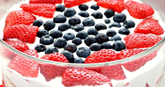 Fresh Berry Trifle – Gluten Free, Vegan