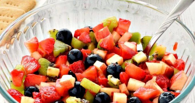 Fruit Salsa – Gluten Free, Vegan