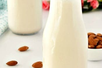 Homemade Almond Milk – Gluten Free, Vegan