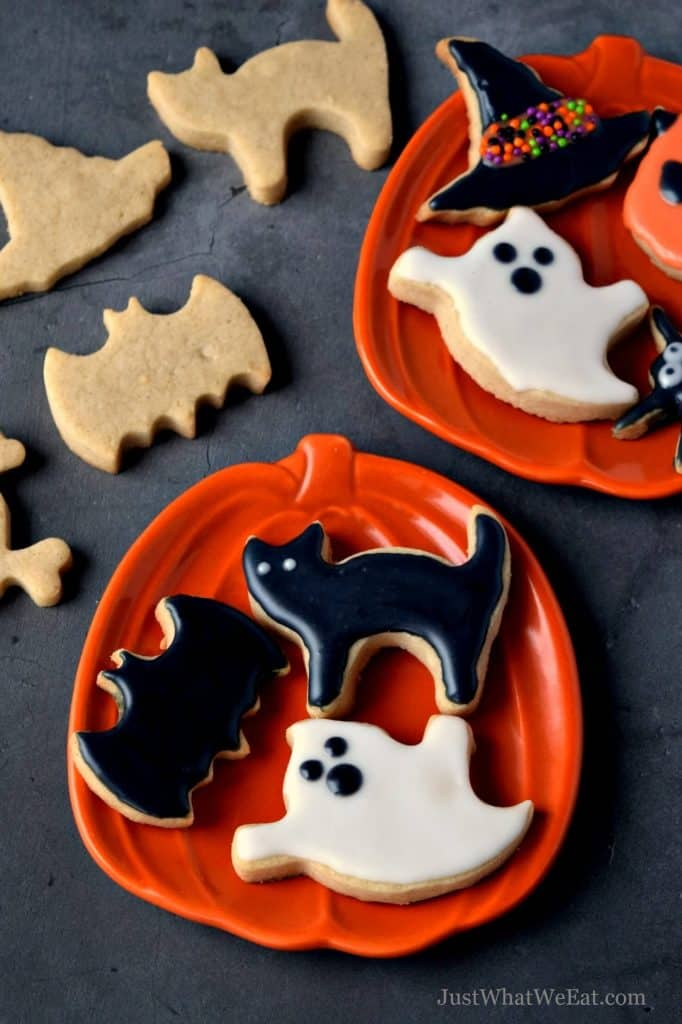 How Do You Make Halloween Cookies.Halloween Cut Out Cookies Gluten Free Vegan