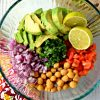 Avocado Chickpea Salad – Gluten Free, Vegan