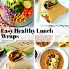 Easy Healthy Lunch Wraps – Gluten Free, Vegan