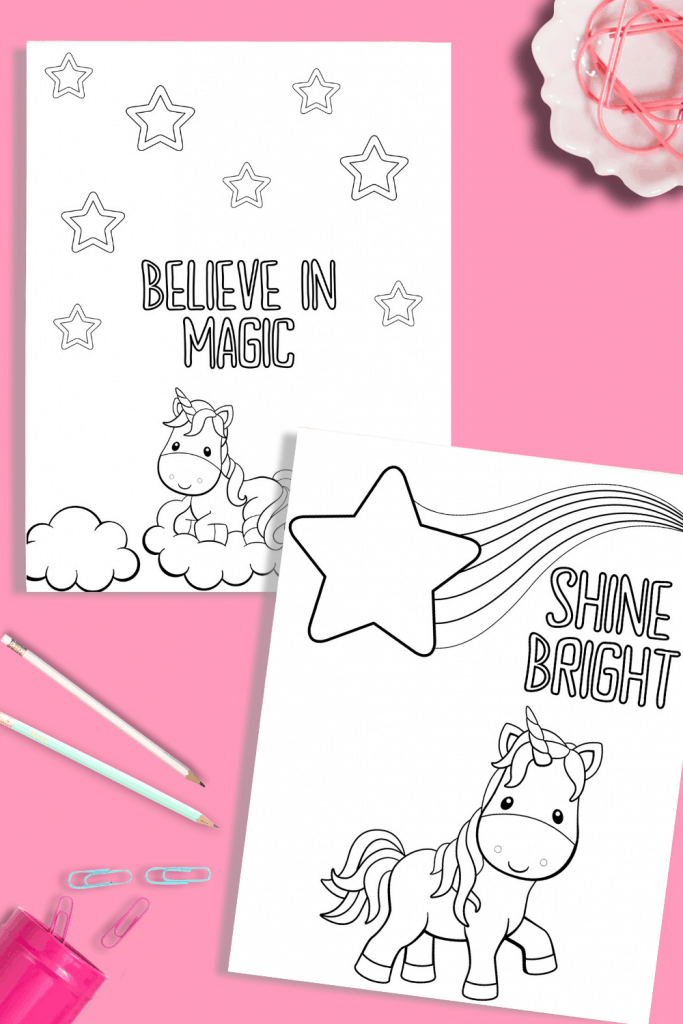 - Printable Unicorn Coloring Pages - Just What We Eat